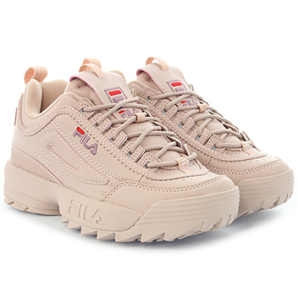 Fila - Baskets Femme Disruptor Low 1010153 Woodrose -  LaBoutiqueOfficielle.com a82a55489abe