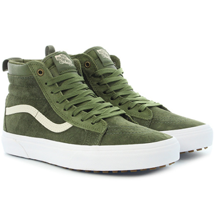 Baskets A33txqwz Winter Moss Hi Military Mte Vans Sk8 wIqHnd