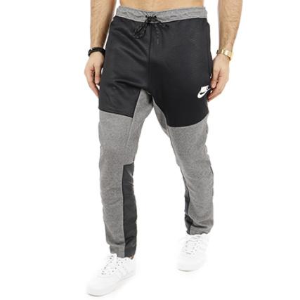 Nike 863777 Chiné 071 Gris Jogging Pantalon Noir q0q46
