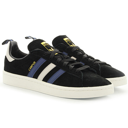 4763145fcd9 Prix double section adidas adidas adidas Baskets Campus CG2049 Core Noir  Collegiate Marron Nobind
