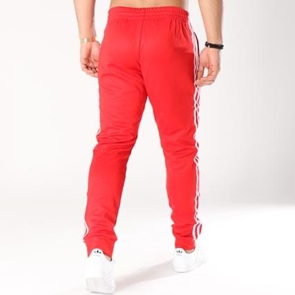 Bandes Rouge Brodées Pantalon Jogging Cw1276 Adidas Beckenbauer vw4EqWF
