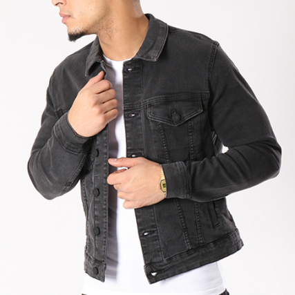 Veste Jean Sons Trucker Coin Noir Only And 6EHqaa