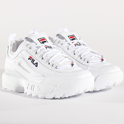 Fila , Baskets Femme Disruptor Low 1010302 1FG White ,  LaBoutiqueOfficielle.com