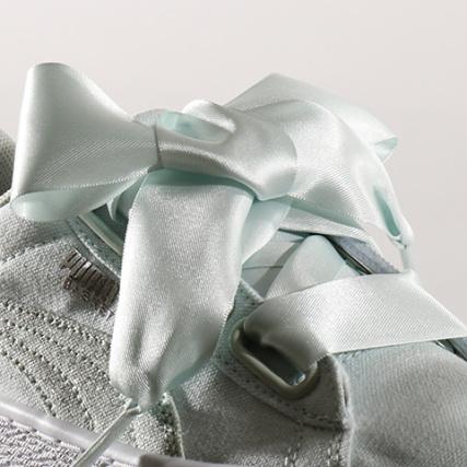 Silver Baskets 03 Flower Canvas White Puma Blue Heart Femme 366495 3Aq5j4RL