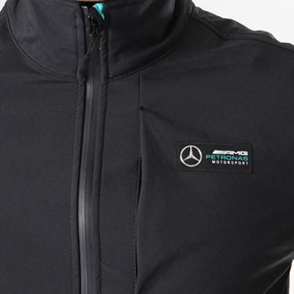 Amg Mercedes Noir Softshell Zippée Veste zz0qr1