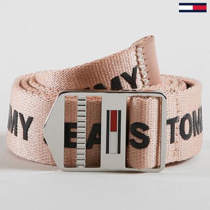 Tommy Hilfiger Jeans - Ceinture Femme TJW Driving 5569 Rose Pale -  LaBoutiqueOfficielle.com 0a167c985198