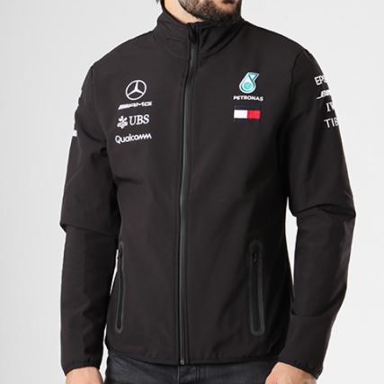 Mercedes Softshell Amg Veste Zippée Noir Team UqqzZxT