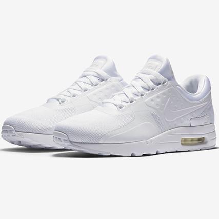 purchase cheap 0a41e 5e26a Nike - Baskets Air Max Zero Essential 876070 006 100 White Wolf Grey -  LaBoutiqueOfficielle.com