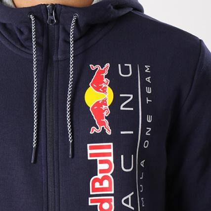 Home Sweat Racing Puma Marine 573438 Red Zippé gt; Bull Sweats Zippés Pulls Bleu Capuche rqprCwB