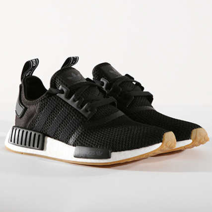 B42200 Core Adidas Black Gum R1 Baskets Nmd zwqIq6t