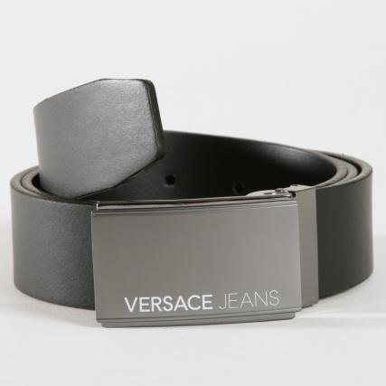 Versace Jeans - Ceinture Linea Uomo Dis 15 Noir - LaBoutiqueOfficielle.com 2ef08ddf27b