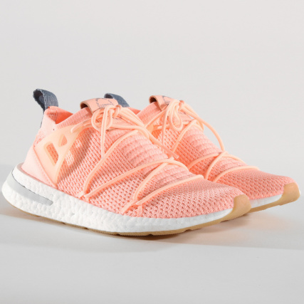 adidas Baskets Femme Arkyn Primeknit B96508 Clear Orange Linen