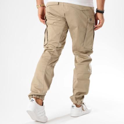 3a3f06be319d9 Home   G-Star   Jeans - Pantalons   Pantalons Cargo   G-Star - Pantalon  Cargo Rovic Zip 3D Tapered D02190-5126 Beige