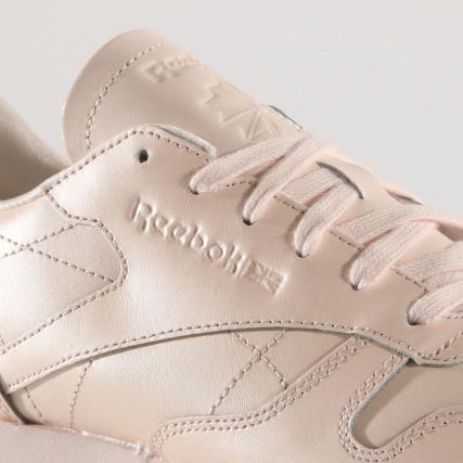 8a00c87b180 Reebok Femme Classic Leather Pink Baskets Pale Cn5467 rrxgaqw ...