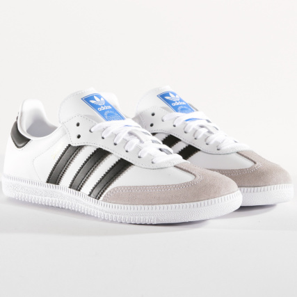 adidas Originals NIZZA - Baskets basses - footwear white/core black/crystal white Dates De Sortie Rabais ywDIE1721