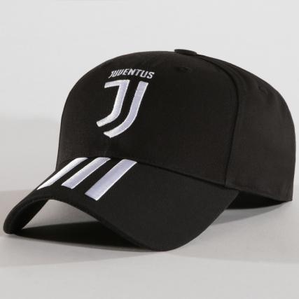 Blanc Noir Stripes Juventus Cy5558 Casquette Adidas 3 q0zYU