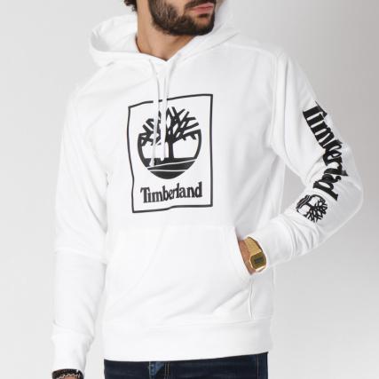 Noir Home Logo Sweat Seasonal Timberland A1n9b Pulls gt; Blanc Capuche Sweats vpvaSxq