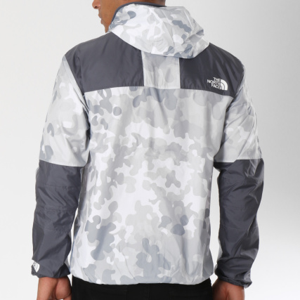 11e8653564 Home > The North Face > Blousons - Vestes > Coupe-Vent > The North Face -  Coupe-Vent 1985 Mountain CH37 Blanc Gris Camouflage