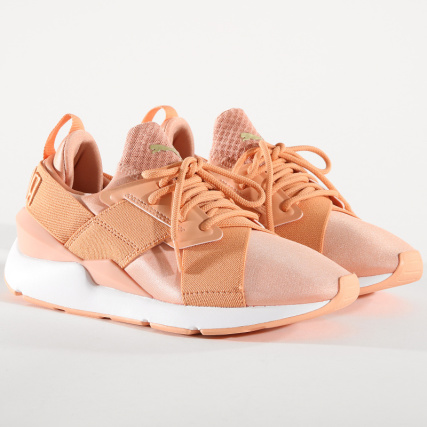 Muse Baskets 365534 07 Ep Satin Puma Femme Dusty Coral SMzVqUpG
