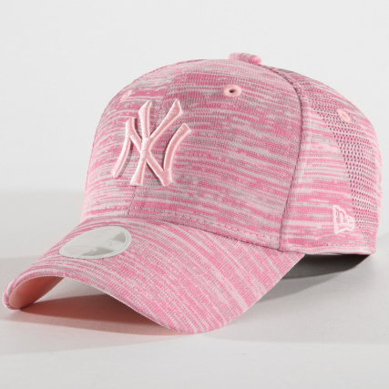 New Era Casquette Femme 9FORTY Engineered Fit New York Yankees Rose 80636112 5d6df6d32366