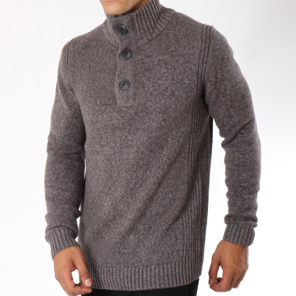 Industries Chiné Petrol 206 Gris Pull w7qSUWUI