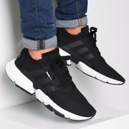 adidas Baskets POD S3 1 B37366 Core Black Footwear White