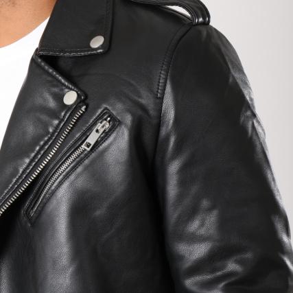 79616 Biker Noir Terance Veste Kole OxXqAt