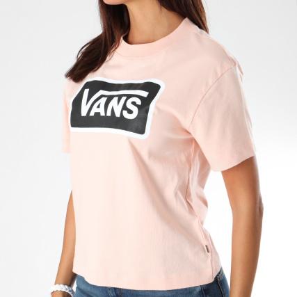 t shirt vans femme rose