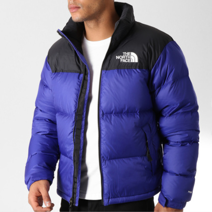 The North Face - Doudoune 1996 Nuptse Bleu Roi - LaBoutiqueOfficielle.com b53103a94e9