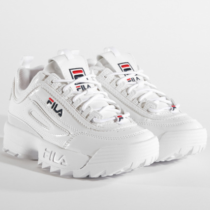 Fila Low Disruptor Mm Femme White Baskets 1010441 1fg DH9IE2