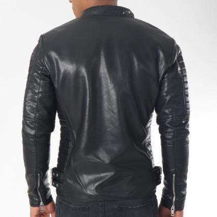 Kole Biker Noir 79628 Veste Terance qCwdzC