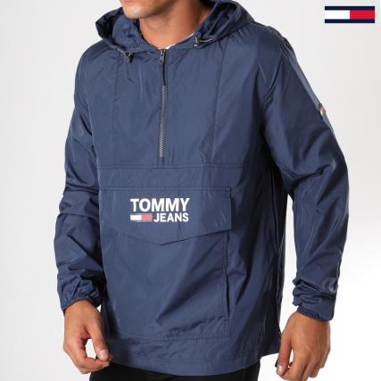 Tommy Hilfiger Jeans - Coupe-Vent Pop Over 5346 Bleu Marine -  LaBoutiqueOfficielle.com 51750d41ff22