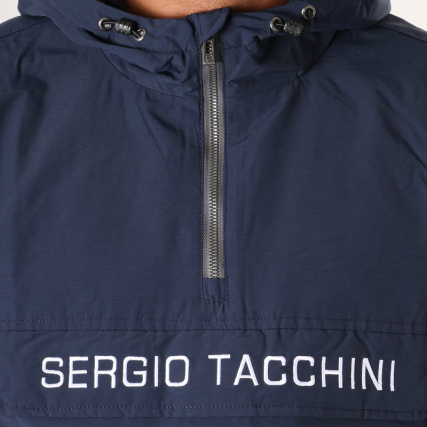 Bleu Veste Outdoor Tacchini Sergio Marine 37750 Into XUR5wp