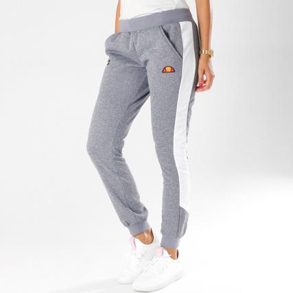 Chiné Gris Avec Pantalon Bandes Jogging Femme Ellesse Nervetti 40wHq4