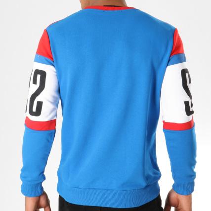 Clair Crewneck Rond Col Rouge Pulls Bleu Blanc Home gt; Uniplay Sweat Sweats 2553 qUawFvgF