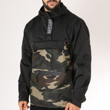Kaki Vert Wnd Camouflage Veste Wrung Noir Outdoor PTwqaAtI