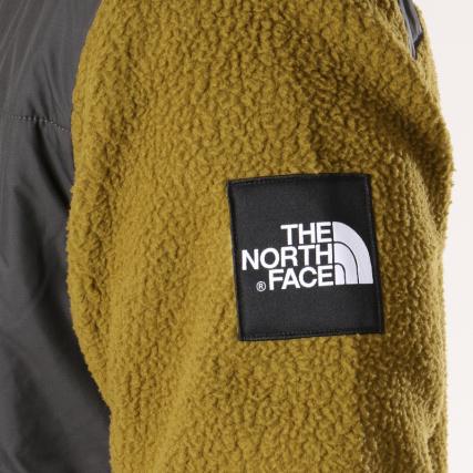 Gris Denali North gt; 381m Vert The Blousons Veste Home Polaire Fleece Face Kaki Zippée Vestes Anthracite H6aqWw