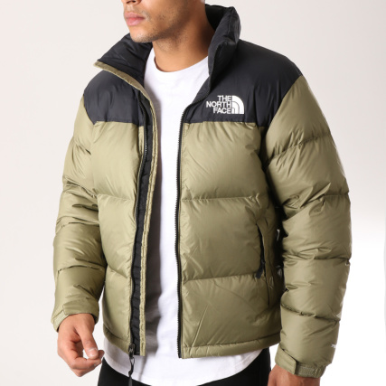 The North Face - Doudoune 1996 Nuptse 3C8D Vert Kaki Noir -  LaBoutiqueOfficielle.com 7f8b874a68e