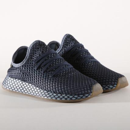 Runner Ash B41772 Deerupt Blue Dark Adidas Baskets PfTxS