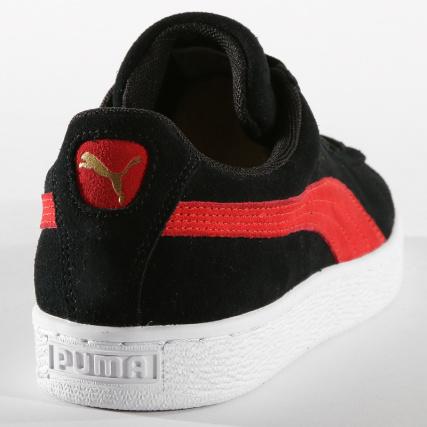 Home   Puma   Baskets - Chaussures   Baskets Basses   Puma - Baskets Suede  Classic 365347 49 Black Ribbon Red Gold ba5cbb4fe289