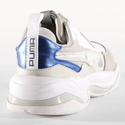 Puma Femme White Thunder Violet Electric 02 Baskets 367998 Gray ZHUqZ74r