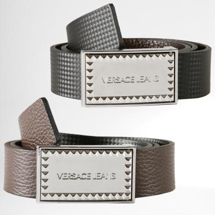 Versace Jeans - Ceinture Réversible Linea Uomo Dis 5 Noir Marron -  LaBoutiqueOfficielle.com 41f8fefc921