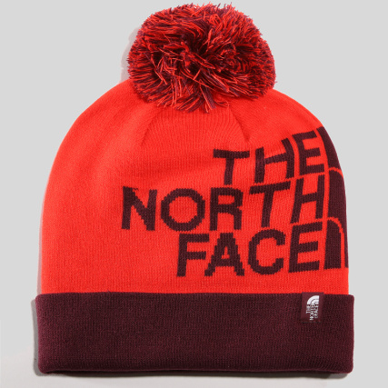 The North Face - Bonnet Ski Tuke Rouge Bordeaux - LaBoutiqueOfficielle.com 3ccf22f8b90