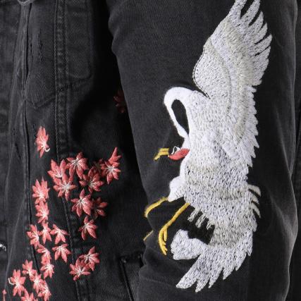 Noir Series Vestes Jean Classic gt; Veste Home Blousons 1177 fS1z8Eq