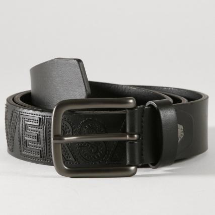 Versace Jeans - Ceinture Linea Uomo Dis 13 Noir - LaBoutiqueOfficielle.com 9b2a3fc2c98