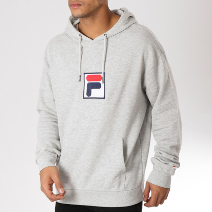 Capuche 682427 Bordeaux Sweat Fila Shawn XPxwwg