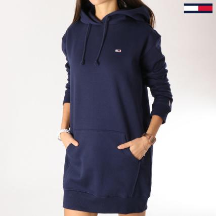 437cccd3c54 Tommy Hilfiger Jeans - Robe Sweat Femme Classics 5658 Bleu Marine -  LaBoutiqueOfficielle.com