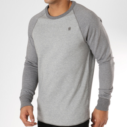 82319addc51df G-Star - Sweat Crewneck Oversize Jirgi D11887-A869 Gris Chiné -  LaBoutiqueOfficielle.com