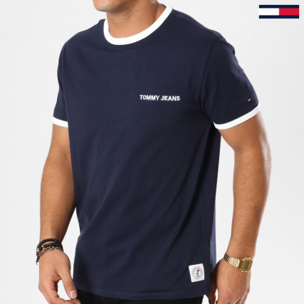 Tommy Hilfiger Jeans Tee Shirt Tommy Ringer 5526 Blanc