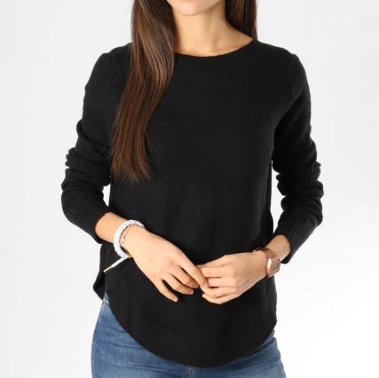 54195cd9856c Vero Moda - Pull Femme Rana Noir - LaBoutiqueOfficielle.com
